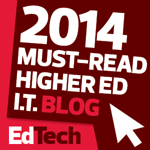 The 2014 Dean's List: 50 Must-Read Higher Education Technology Blogs