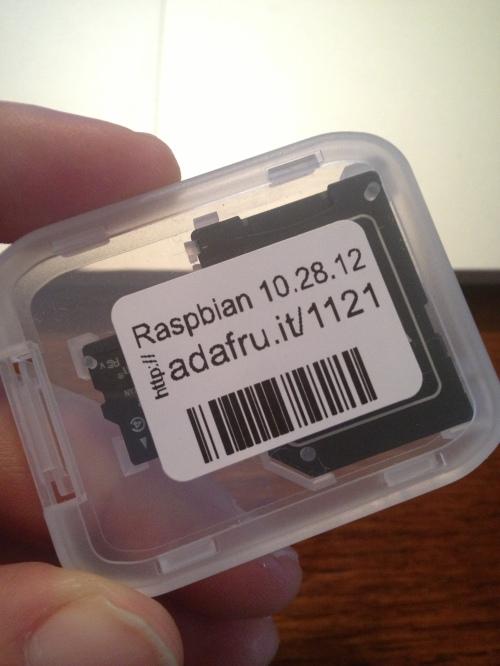 Raspbian Preloaded SD