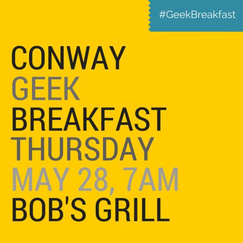 #GeekBreakfast